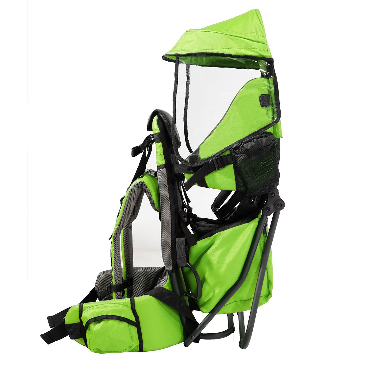 ffe68b0101a Clevr Cross Country Baby Backpack Hiking Carrier with Stand and Sun Shade  Visor Child Kid toddler