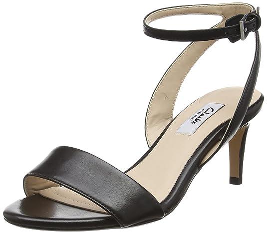 Clarks Women's Leather Fashion Sandals Fashion Sandals at amazon