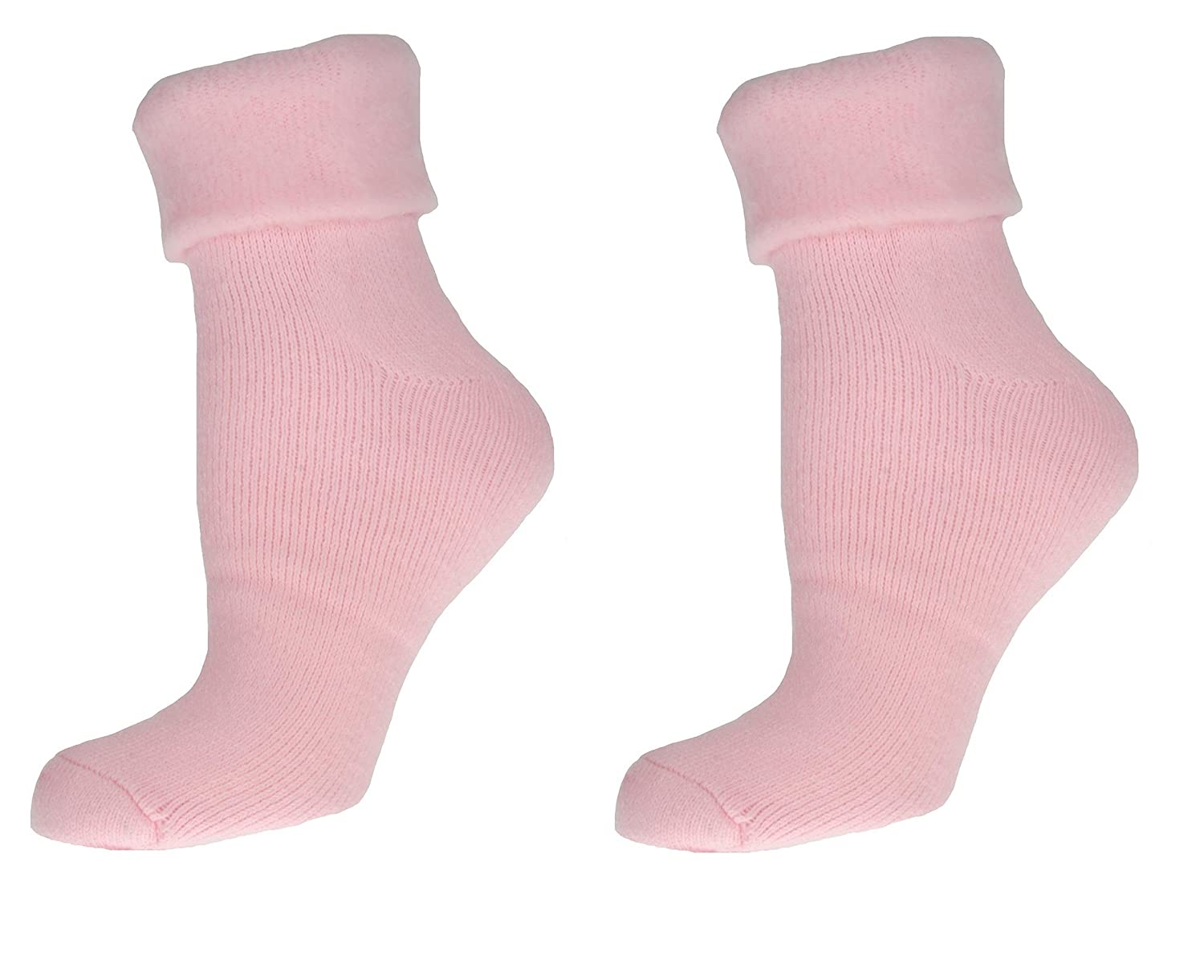 Sleeperzzz Ladies Soft Thermal Bed Socks - Pack of 2