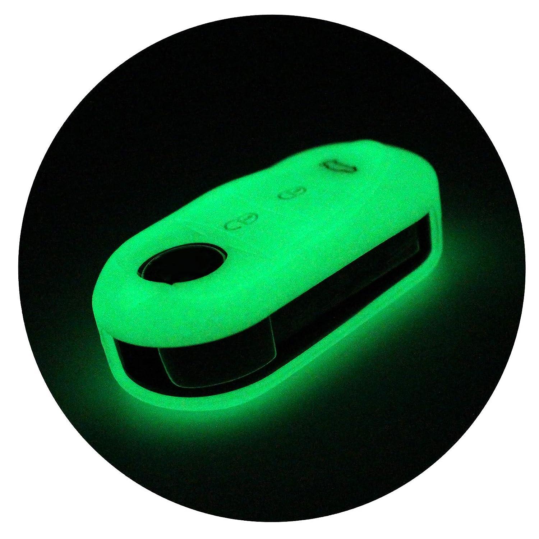 Chiave di ala per 3/pulsanti chiave dell automobile silicone cover di Finest Folia