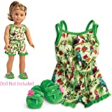 American Girl - Lea Clark - Lea's Rainforest Dreams Pajamas for Dolls - American Girl of 2016