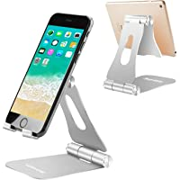 (2 in 1) YOSHINE Tablet Stand, Multi-Angle Adjustable Desktop Cell Phone Stand Holder Mount Cradle for Nintendo Switch…