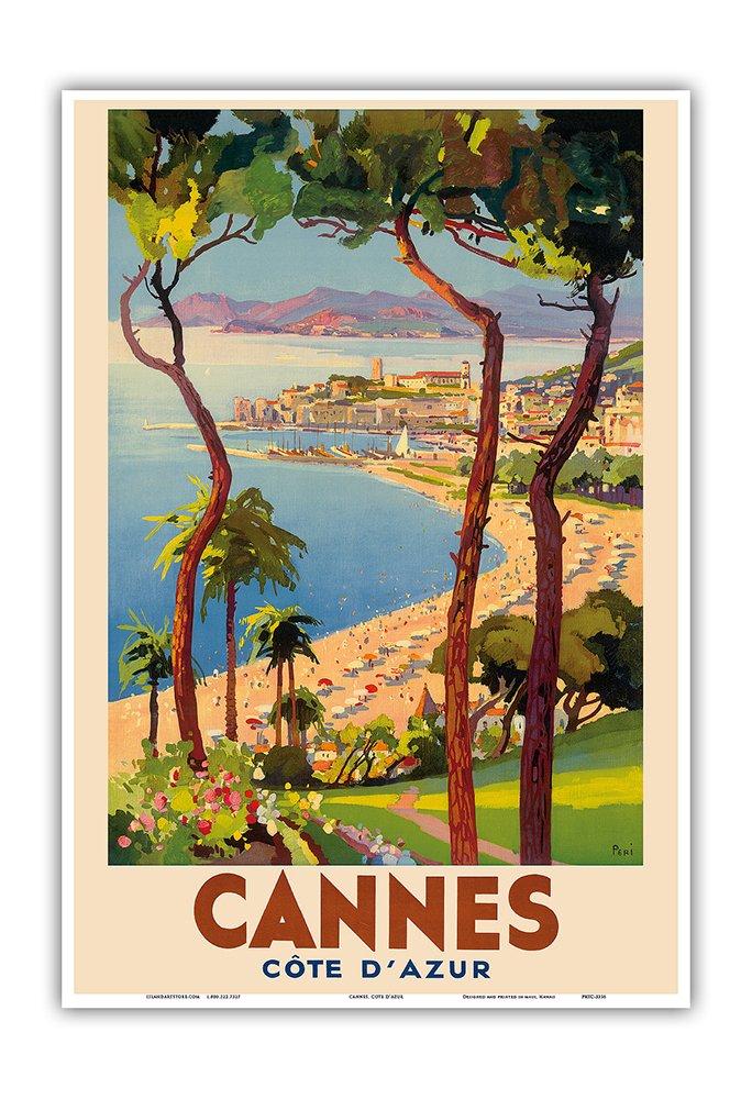 Amazon.com: Cannes - Côte d\'Azur, France - French Riviera - Vintage ...