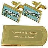 L'Ermite du Tarot card gold-tone de manchette argent gravé Collier Cadeau