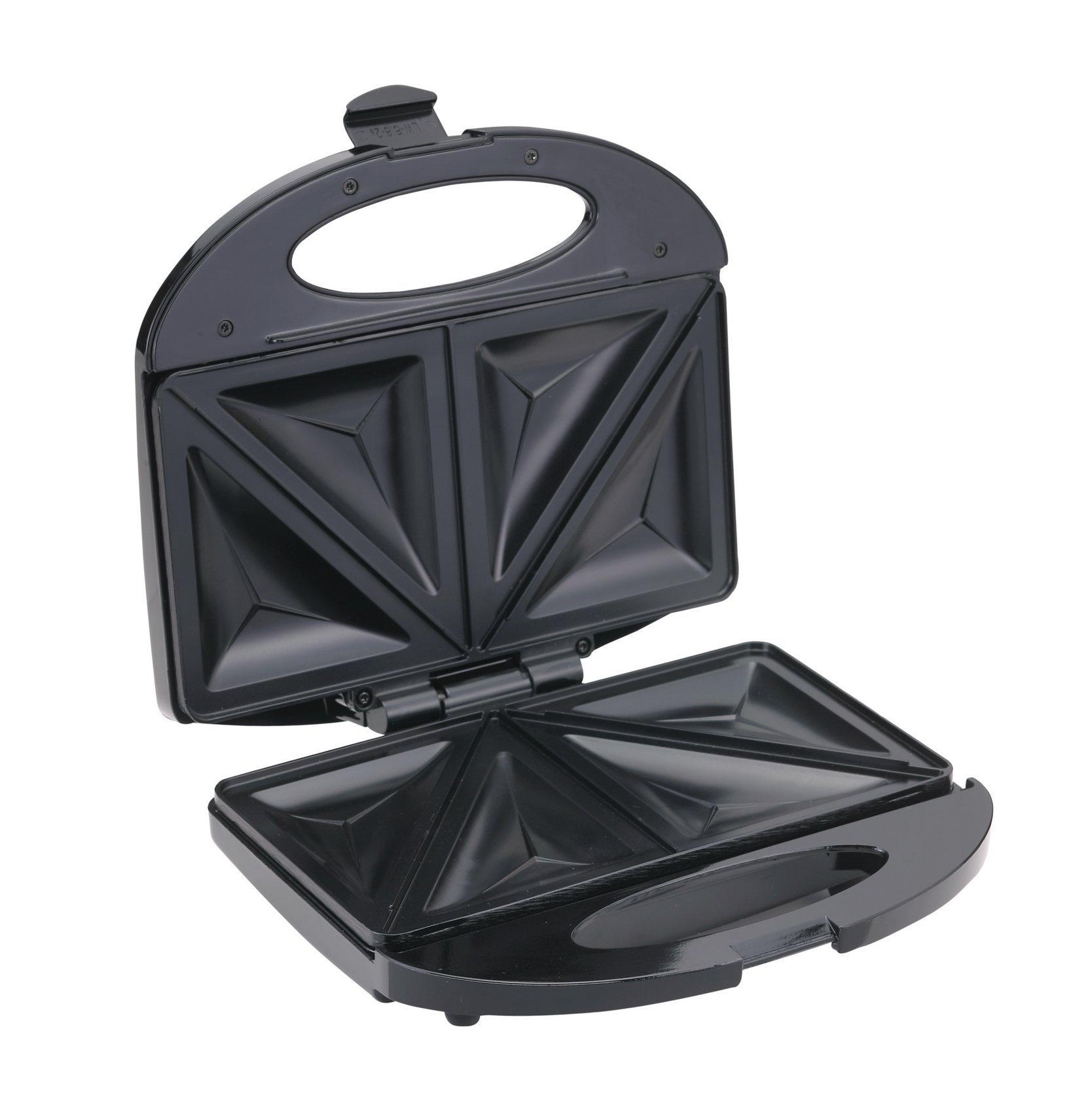 BLACK & DECKER TS 1000 220V Sandwich Maker 600W 220-240V (Not for USA), Black by BLACK+DECKER (Image #5)