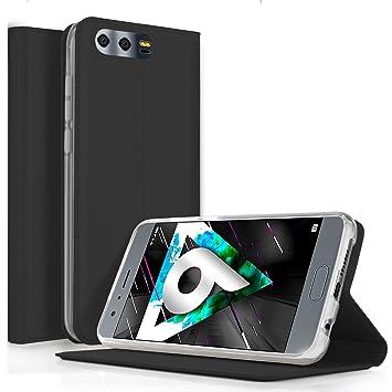 Funda Huawei Honor 9 - KuGi Slim Flip Cover Carcasa Cubierta de ...
