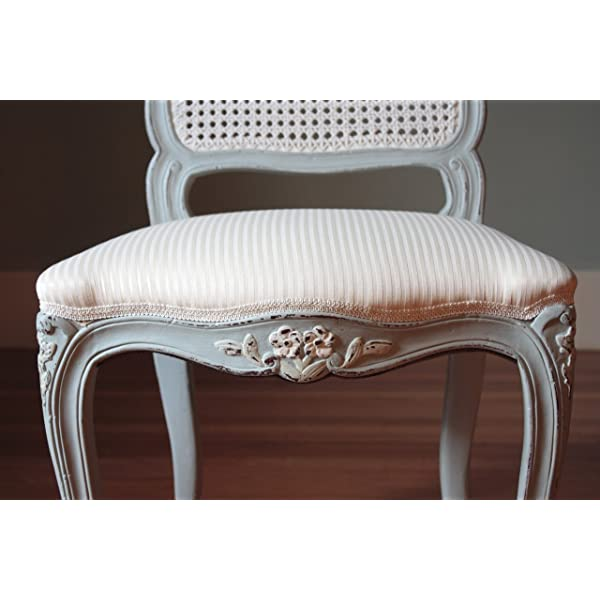 Laurel Crown French Cane Back Chairs