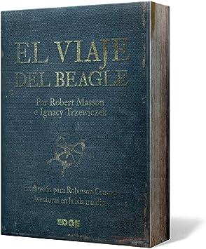 Edge Entertainment Robinson Crusoe - El Viaje del Beagle, Juego de Mesa EDGRC02: Amazon.es: Juguetes y juegos