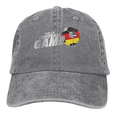 WHa12 Cap 2018 Football Game Germany Unisex Soft Denim Cotton Adjustable  Dad Hats Baseball Caps 04cfb2c1615