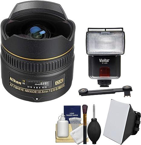 Nikon 10,5 mm F/2.8G ED DX Objetivo fisheye-nikkor AF con difusores de