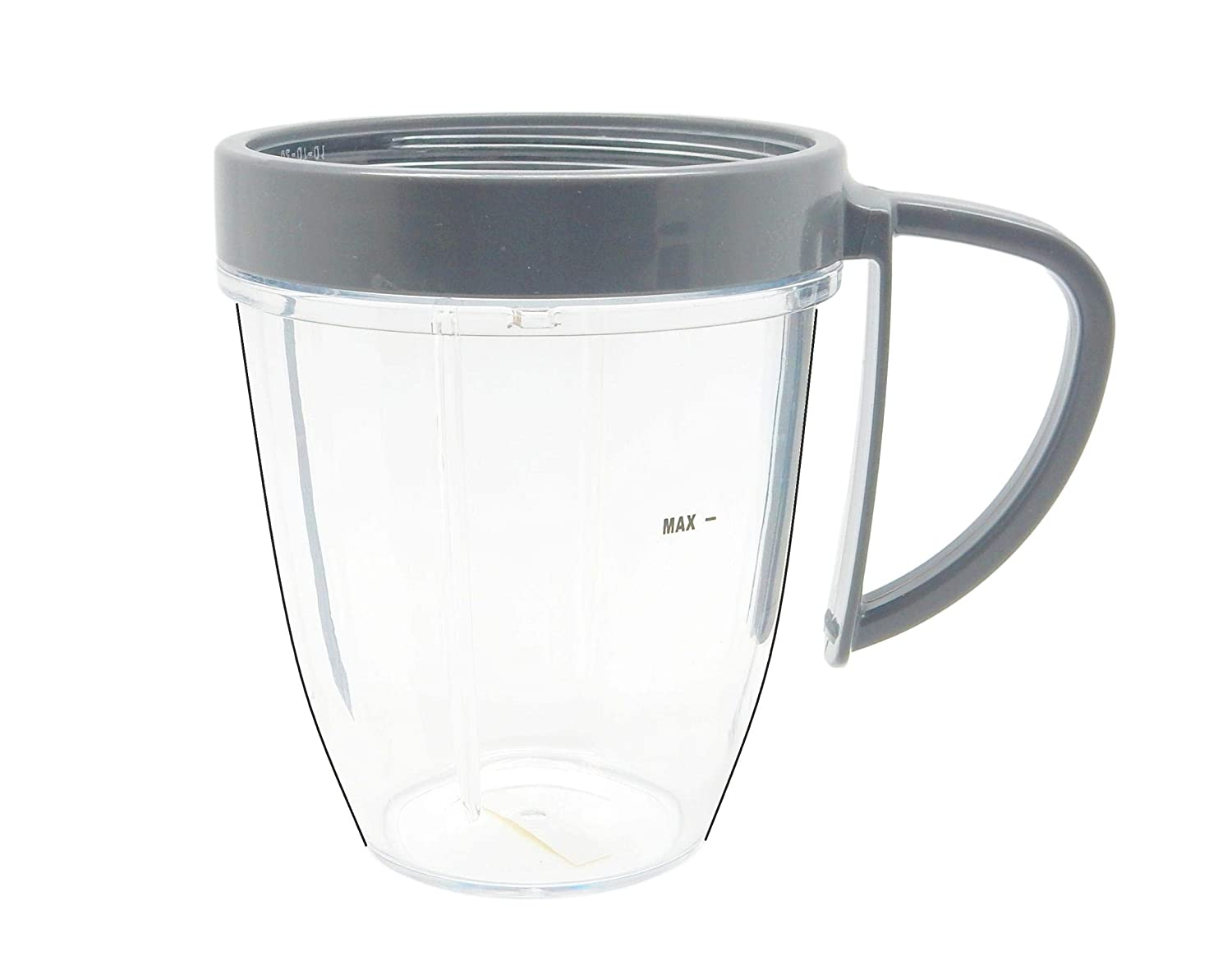 NutriBullet 18oz with comfort handle All Original Accessories, Replacement Blender Parts Gray x1 COMINHKPR96352