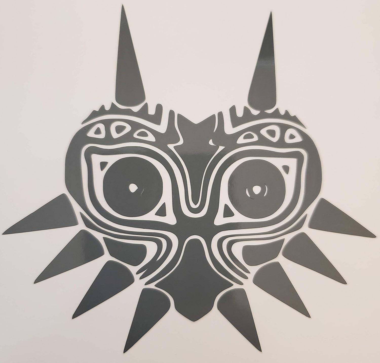 Zelda | Decal Vinyl Sticker | Cars Trucks Vans Walls Laptop | Legend of Zelda enthusiasts Custom Zelda Majora's Mask