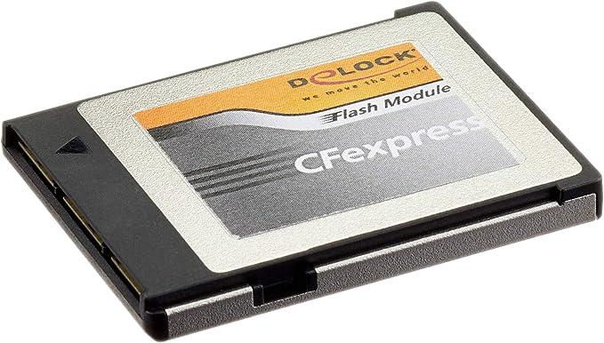 Delock Cfexpress Speicherkarte 128 Gb Computer Zubehör