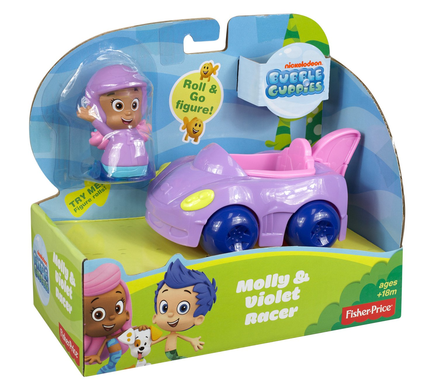amazon com fisher price nickelodeon bubble guppies molly and