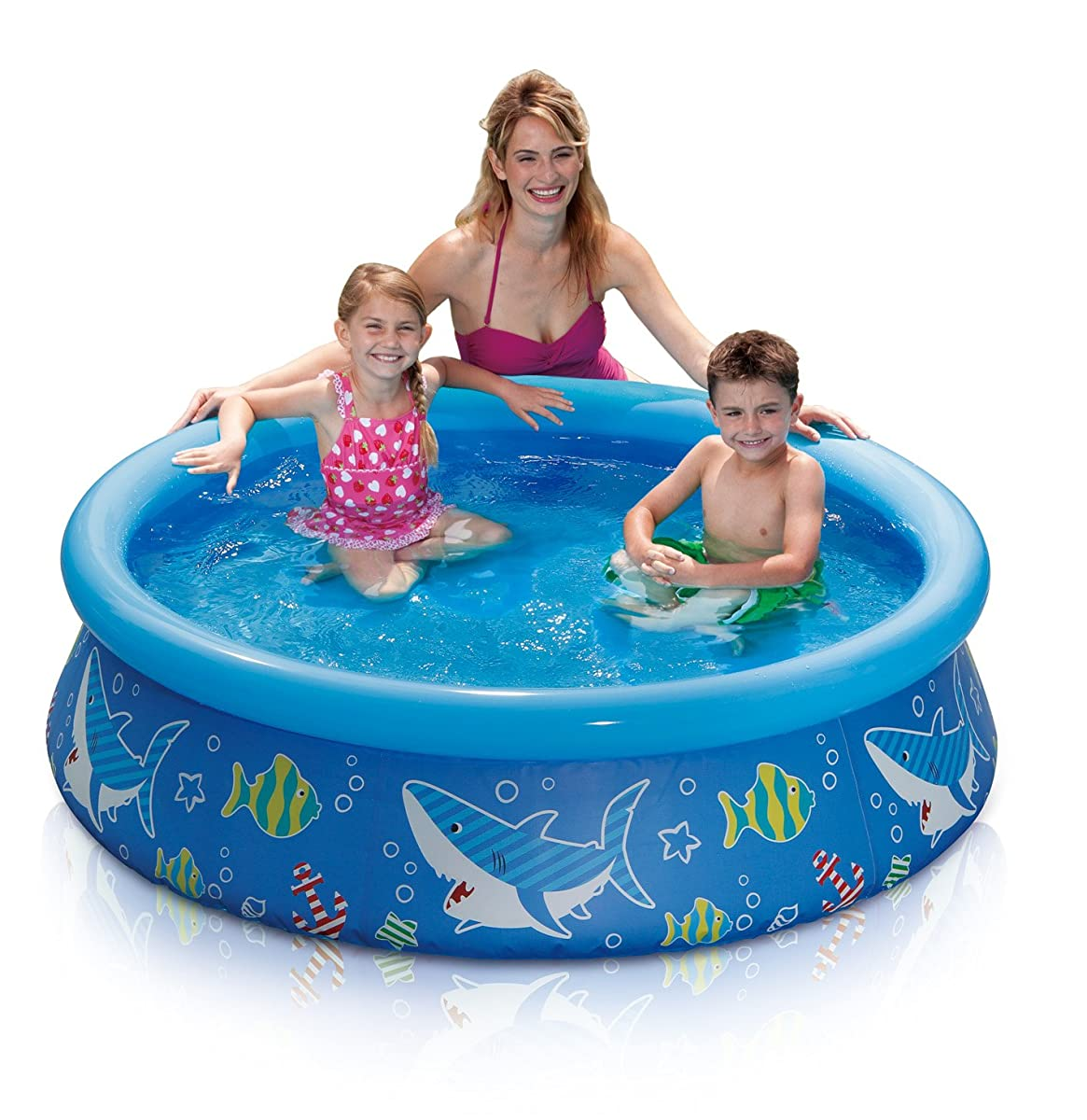 SUMMER WAVES 5x15 Quick Set Ring Pool
