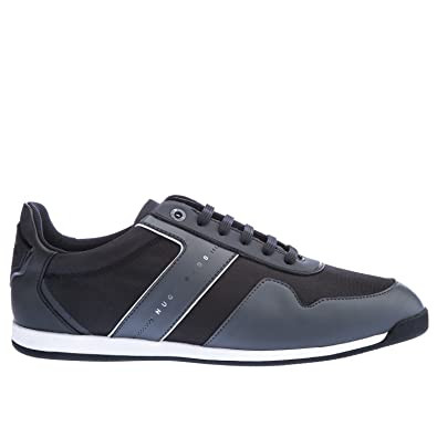 Hugo Boss Maze Low Tech Mens Trainers Black Hugo Boss Sneakers Shoes Boxed New