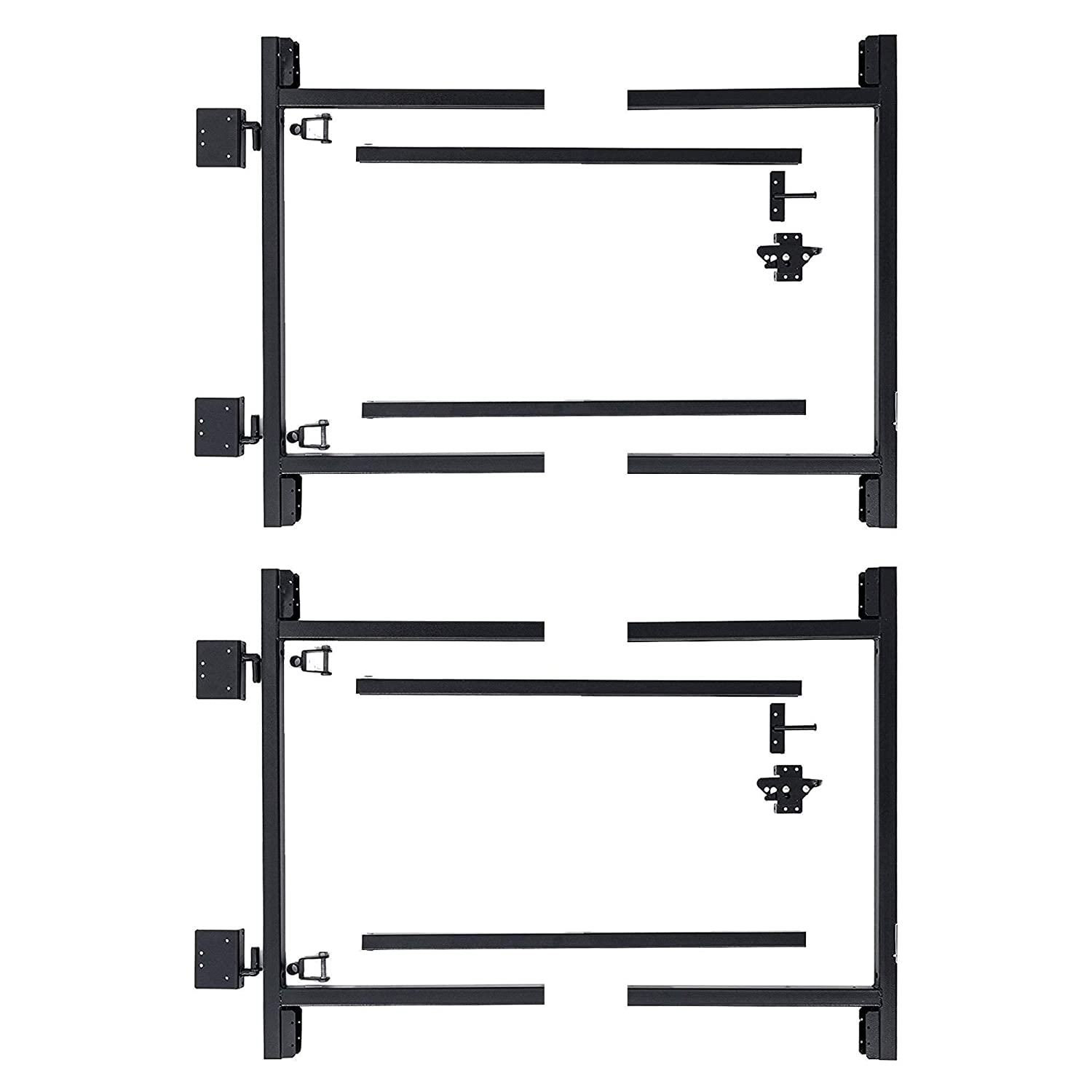 Adjust-A-Gate Steel Frame Gate Building Kit, 36 -60 Wide Up to 4 High 2 Pack