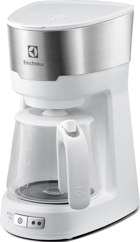 Electrolux máquina de café americano Acciaio Inox Spazzolato/Bianco: Amazon.es: Hogar