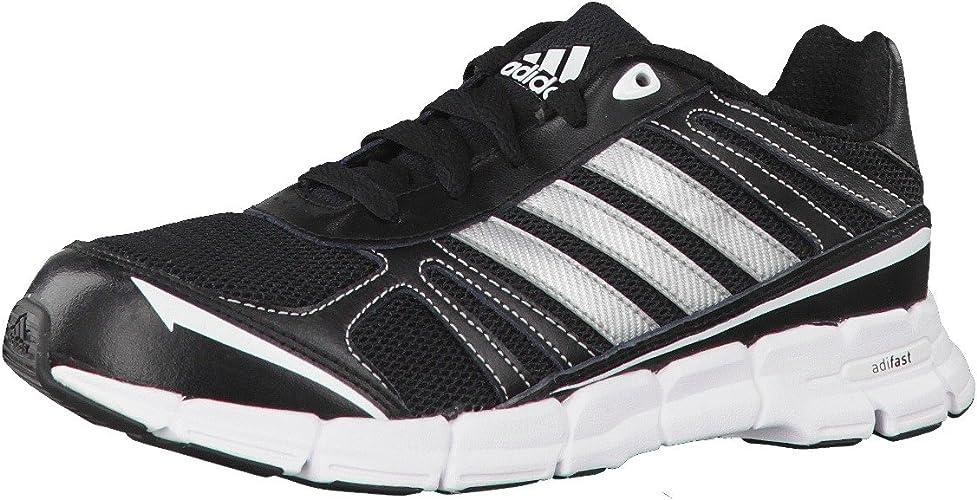 adidas Unisex Kids' Adifast K Running Shoes Black Size: 4.5 UK ...