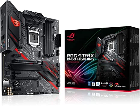 ASUS ROG Strix B460-H Gaming - Placa Base Gaming ATX Intel de 10a Gen LGA 1200,