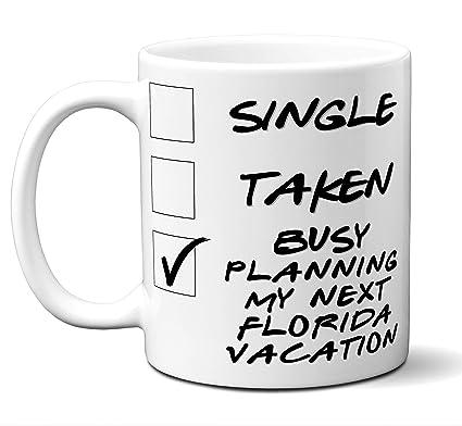 Amazon com: Funny Gift For Florida Lovers  Single, Taken