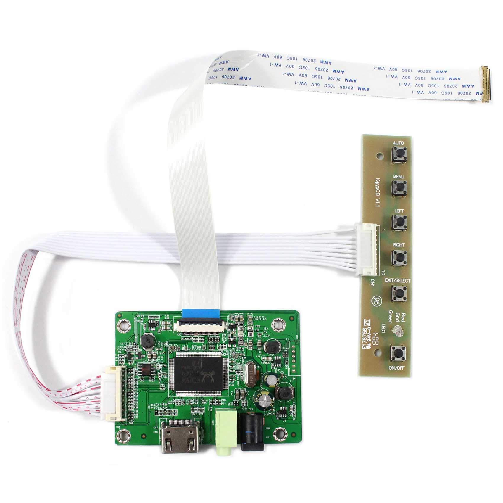 Controladora LCD HDMI VGA 17.3 1600x900 LP173WD1 NT173WDM