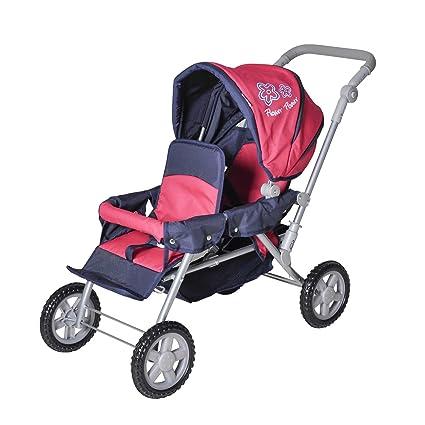 Knorr 16666 Big Twin - Silla de paseo para gemelos de juguete