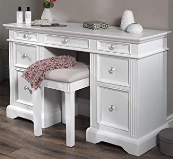 Gainsborough White Dressing Table Very Solid Dressing Table With 7