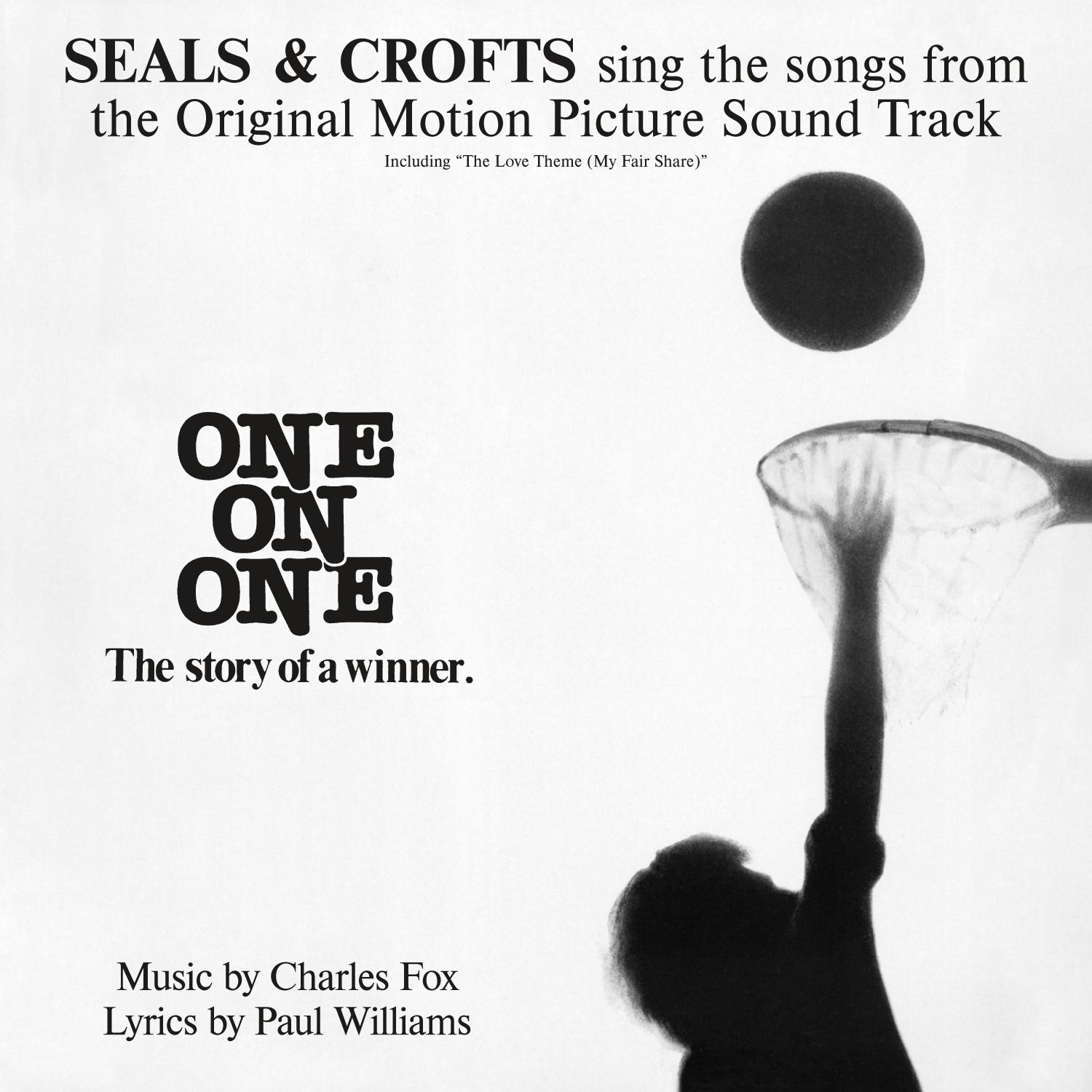 CD : Seals & Crofts - One on One: Songs from the Original Motion Picture (CD)
