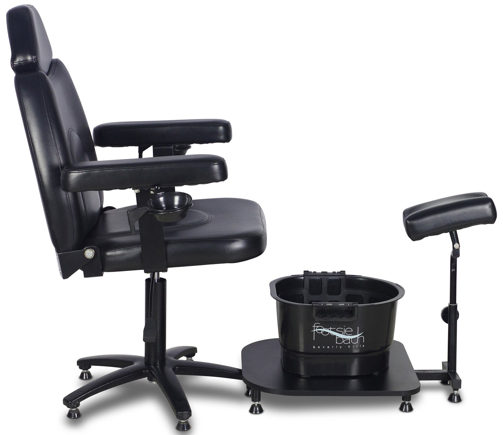 Icarus ''Zenith'' Black Pedicure Foot Spa Station Chair by Icarus (Image #6)