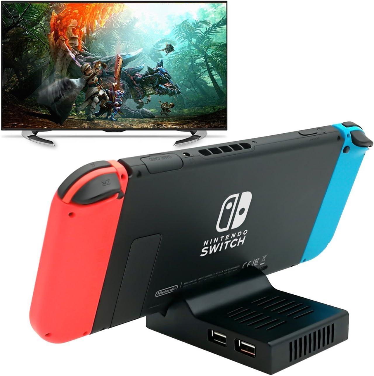 YUANHOT Base Portátil para Nintendo Switch, Base de Repuesto con ...
