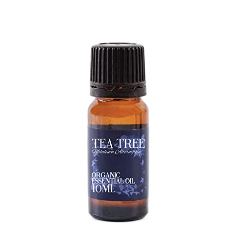 Mystic Moments   Tea Tree Organic Essential Oil - 10ml - 100% Pure