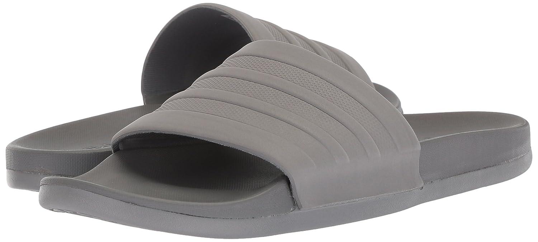 c97ed85e2e22 Amazon.com | Adidas Men's Adilette Cloudfoam Plus Mono Slides, Grey/Grey  Grey, 8 M US | Sport Sandals & Slides