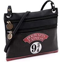 Karactermania Harry Potter Express-bolso Bandolera Action Mini Horizontal Borsa Messenger, 22 cm, Nero (Negro)