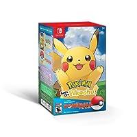 Pokemon Let's Go Pikachu with Poke Ball Plus - Pikachu + Poke Ball Edition