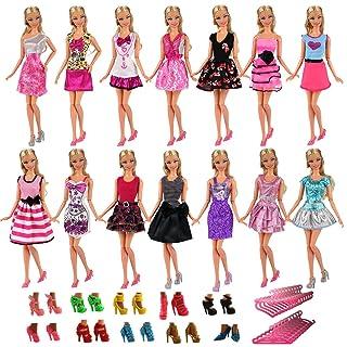 Villavivi Abiti Vestiti Ed Accessori Per La Festa Per Barbie Dolls Bambola Per Regalo 2018 Stili Nuovi (7 Vestiti Da Sposa)