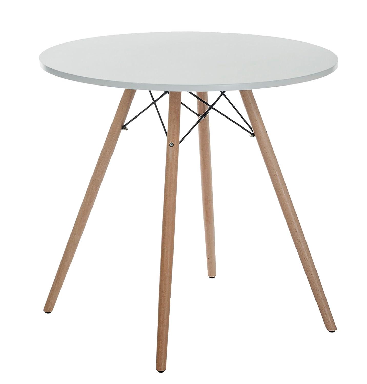 Sitzgruppe Ray, Designer-Tisch + 2 Stühle, Retro-Tisch mit 2 Stühlen ...