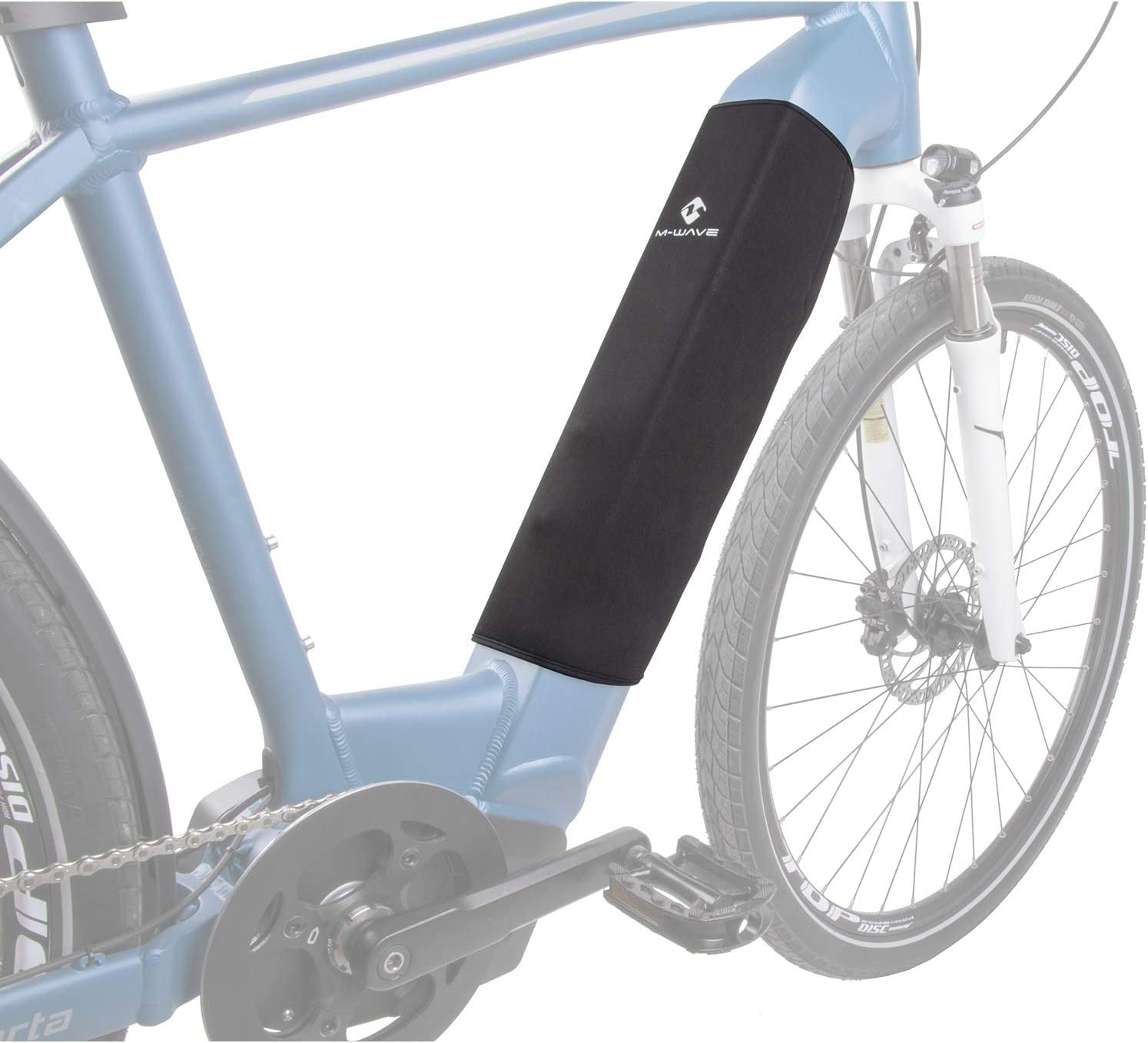M-Wave Wrap Connector Protection Cover for E-Bike Black