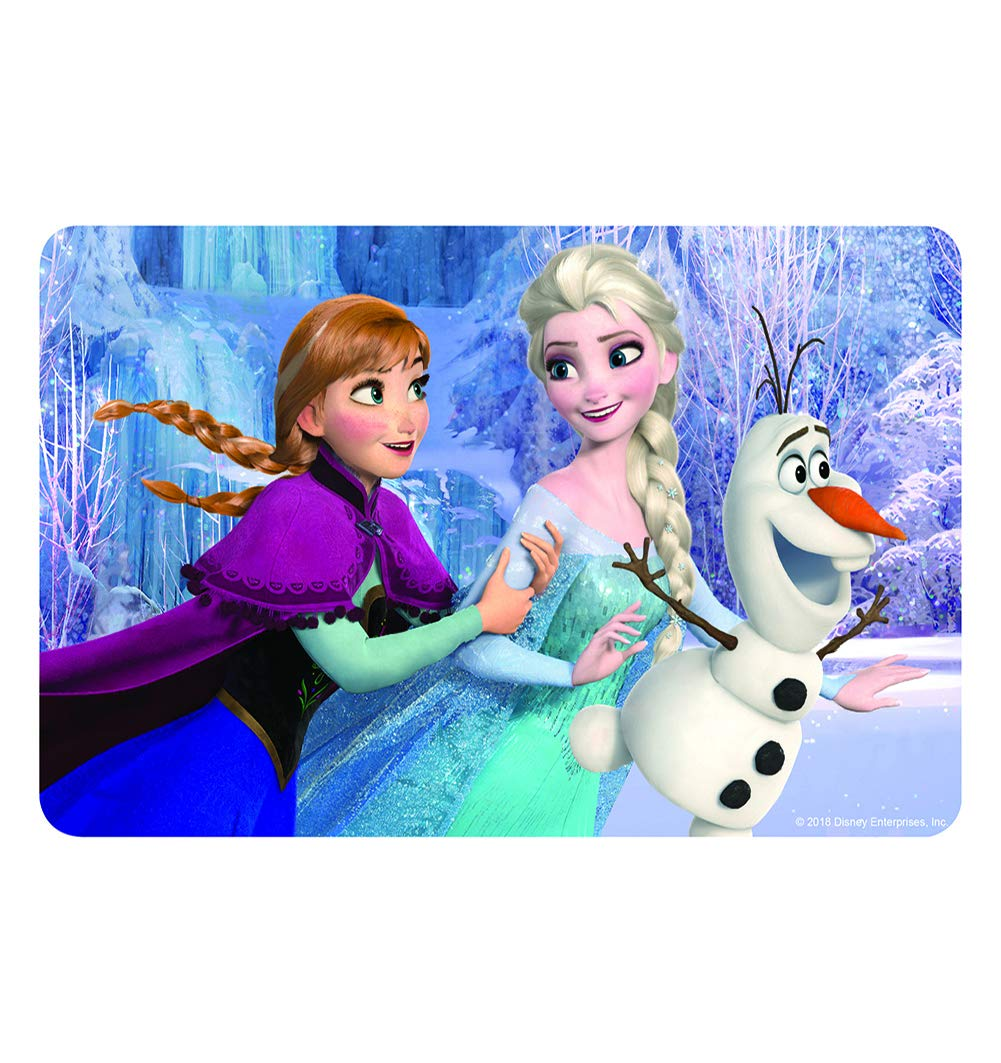 NEILDEN Disney Frozen Puzzles in a Metal Box 60 Piece Jigsaw Puzzle for Kids Ages 3+ for Children Learning Educational Puzzles Toys (Snowman)