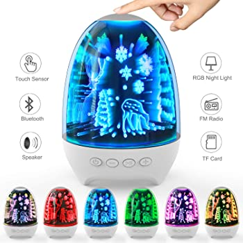 Aiscool Bluetooth Lamp Speaker With Touch Sensor Night Light