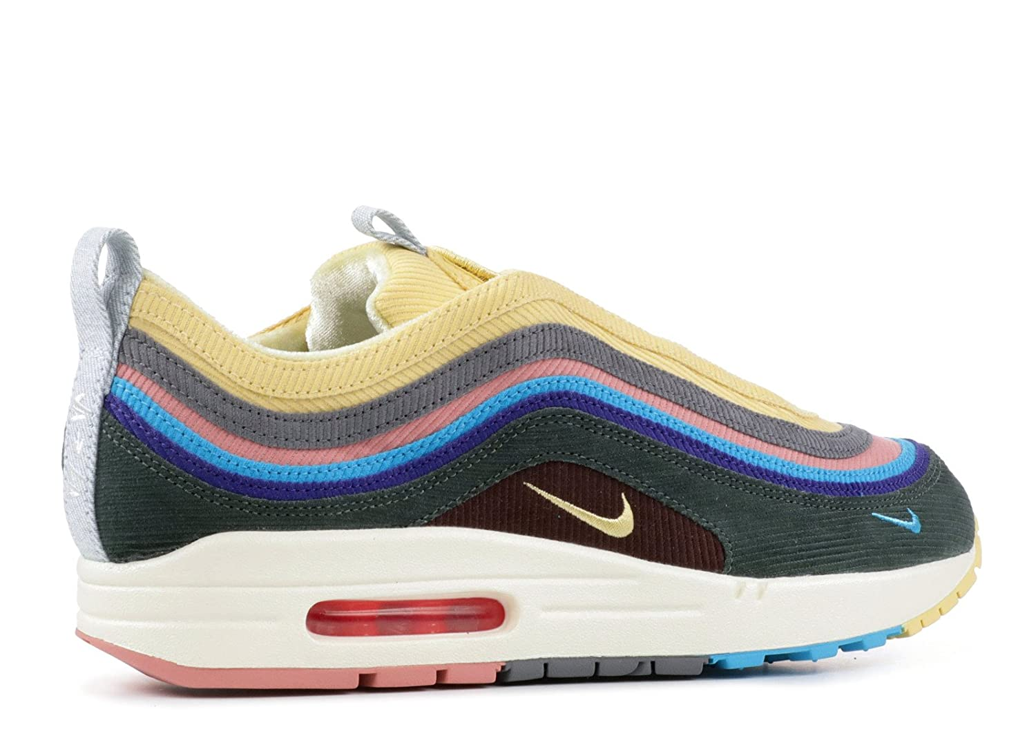 100% authentic c6dc9 fa5bc Nike AIR MAX 1/97 VF SW 'Sean Wotherspoon' - AJ4219-400: Amazon.co.uk: Shoes  & Bags