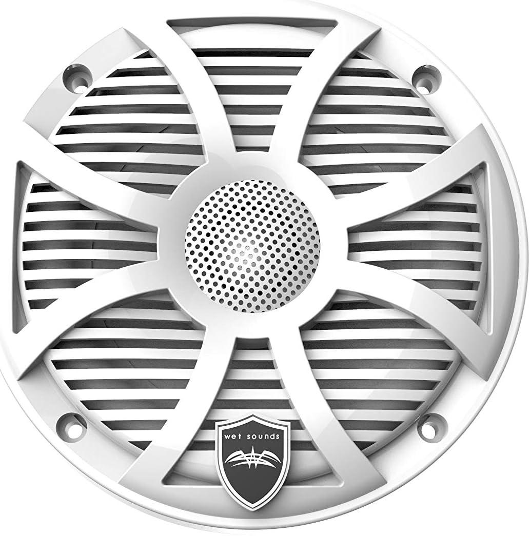 Wet Sounds Revo6 6.5-Inch 200W White LED Full Range Marine Speakers