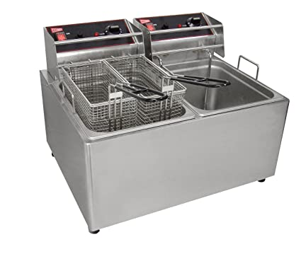 deep ultra fast lb products countertop recovery fryer mke fe electric