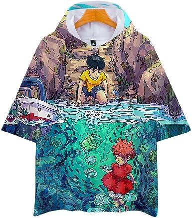 Camisetas, Unisex con Capucha Manga Corta Camiseta para ...