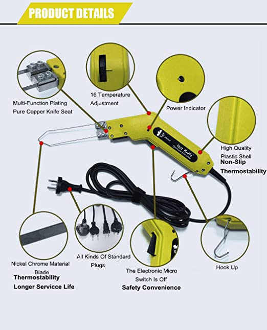 amazon com tco foam sculpture hot knife cutter 150 watts 120 rh amazon com 3-Way Switch Wiring Diagram Residential Electrical Wiring Diagrams
