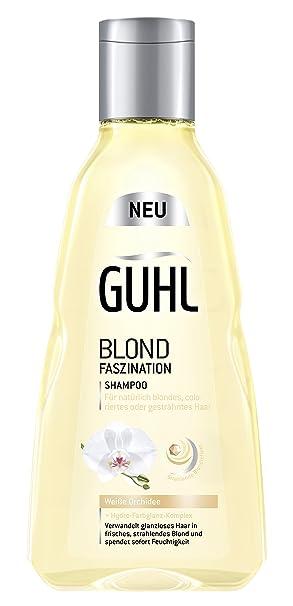 Braun shampoo auf blondes haar