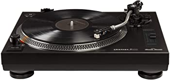 Crosley C200A-BK Direct Drive Turntable