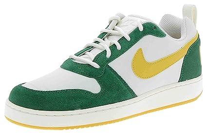 quality design 05f45 85e6c Nike - Nike Court Borough Low Prem Scarpe Sportive Uomo Bianche Verdi -  White, 7