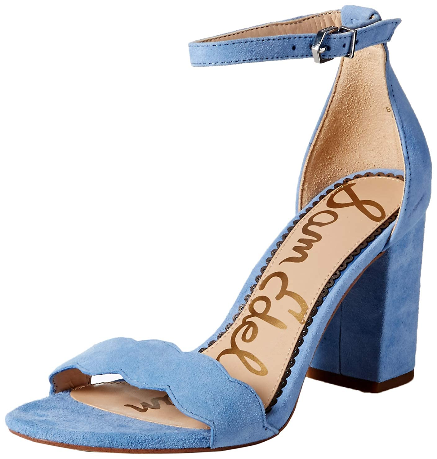 Cornflower bluee Suede Sam Edelman Women's Odila Fashion Sandals