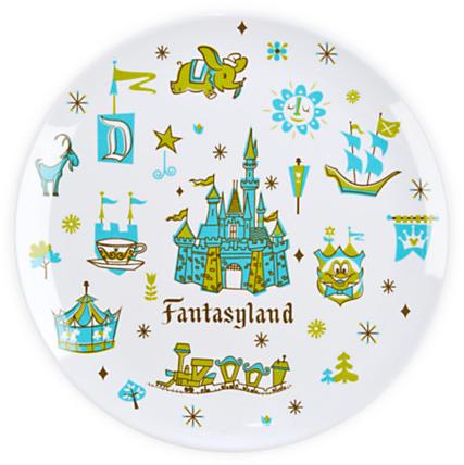 Fantasyland Plate - 8'' | Dinnerware | Disney Store